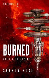 Agents of Rivelt: Burned - on Amazon!